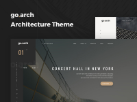 Go.arch - Architecture and Interior WordPress Theme [Bản quyền v 1.2.9]